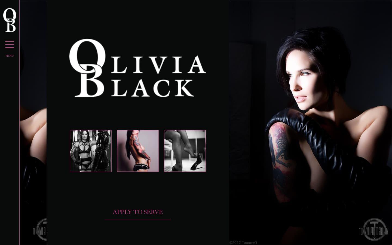 Olivia Black Website